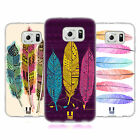 HEAD CASE DESIGNS AZTEC FEATHERS SOFT GEL CASE FOR SAMSUNG PHONES 1