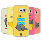 HEAD CASE DESIGNS WILBUR THE CAT SOFT GEL CASE FOR SAMSUNG PHONES 1