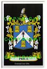 PRICE Family Coat of Arms Crest - Choice of Mount or Framed