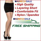 Ladies Seamless Layering  Basic Short Sport Yoga Short Legging Spandex