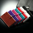 Kickstand Flip Leather Card Pocket Case Cover for LG G3 D851 D855 VS985 LS990