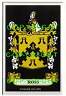 ROSS Family Coat of Arms Crest - Choice of Mount or Framed