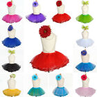 Baby Toddler Girls Princess TUTU SKIRT Glitter Pageant Birthday Party Costume