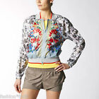 Adidas Originals Stella McCartney Floral Shell Run Light Bomber Jacket XS S