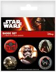 Star Wars Episode VII The Force Awakens First Order Badge Pack 10x12.5cm