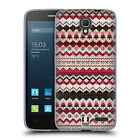 HEAD CASE DESIGNS KNITTED CHRISTMAS SOFT GEL CASE FOR ALCATEL PHONES 2