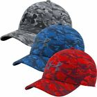 Under Armour 2016 HeatGear® Camo Printed Blitzing Stretch Fit Men's Golf Cap