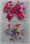 SOFIA THE FIRST AND MY LITTLE PONY PINWHEEL BOW HAIR CLIP