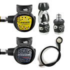 Cressi Mc5 Xs Compact Black + Octopus Xs Compact + Manometro Pms 01IT