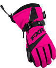FXR Helix Youth Race Gloves Fuchsia