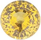 Natural Fine Yellow Sapphire - Round - Tahiland - AAA Grade