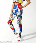 Adidas Originals Rita Ora Super High Waist Comic Cartoon Leggings XS S M New!