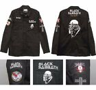 Black Sabbath Flying Demon Officially Licensed Adult Military Army Jacket
