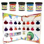 W7 Colourways Semi Permanent Hair Dye - Cherry Pink Reds & More