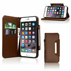 Luxury Magnetic Flip Leather Wallet Book Case Protective Cover For Mobile Phones
