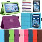 Amazon Fire 7 Leather case For 2015 5th Generation with stand + Screen Protector