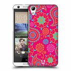 HEAD CASE DESIGNS PSYCHEDELIC PAISLEY HARD BACK CASE FOR HTC DESIRE 626