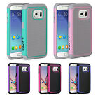 For Samsung Galaxy S7 Case Hard Hybrid Shockproof Absorbent Rugged Slim Cover
