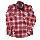 NEW FACTORY EFFEX FX HONDA FLANNEL COTTON/ POLYESTER SHIRT RED ALL SIZES