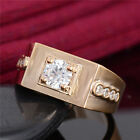 Superb 18K Gold Filled Charming cubic zirconia New Lady's Ring Size 9-11