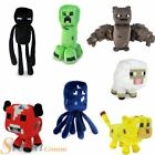 """Minecraft Official Overworld 7"""" Licensed Animal Mobs Plush Soft Toy"""