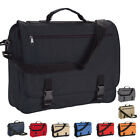 MESSENGER BAG - WORK COLLEGE SCHOOL OFFICE COURIER SHOULDER - 9 GREAT COLOURS