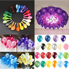 100pcs 10 inch Colorful Pearl Latex Balloon Celebration Party Wedding Birthday F