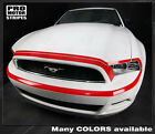 Ford Mustang 2013-2014 Front Fascia Retro Style Highlight Stripe (Choose Color)
