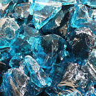 Glasbrocken hellblau Glass Rocks ocean blue 50/120mm 5 kg bis 100 kg