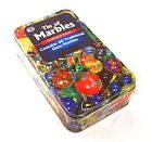 Marbles In A Tin 60 Traditional Glass Marbles Balls Assorted Size Fun Kids Games