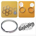 "WHOLESALE LOT 1 Through 5, 000 NEW KEY RINGS 24mm 1"" DIAMETER SPLIT RINGS SILVER"
