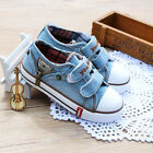 New Canvas School girl and boy's Children Sneakers kids flat shoes  Slip-On