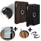 Cover Custodia Case Pelle 360 Per Apple iPad 2 / 3 / 4 Retina +Pennino+Pellicola