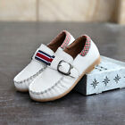 2017 New boy children Genuine Leather kids Slip On Flats Casual Shoes 4 Color