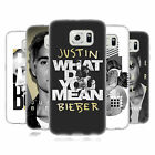 OFFICIAL JUSTIN BIEBER BLACK AND WHITE SOFT GEL CASE FOR SAMSUNG PHONES 1