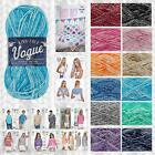 KING COLE VOGUE DK 100% COTTON KNITTING & CROCHET YARN & PATTERNS