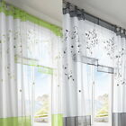 Tulle Living Room Door Window Curtain Drape Panel Sheer Scarfs Valances Gifts