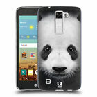 HEAD CASE DESIGNS CARAS ANIMALES CASO DE GEL SUAVE PARA LG K7 TRIBUTE 5