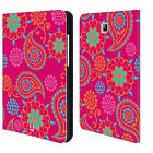 HEAD CASE DESIGNS PSYCHEDELIC LEATHER BOOK CASE FOR SAMSUNG GALAXY TABLETS