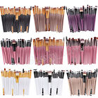 20Pcs Makeup Brushes Set Foundation Eyeshadow Eyeliner Lip Cosmetic Brush