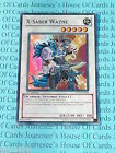 X-Saber Wayne 5DS3-EN042 Super Rare Yu-Gi-Oh Card Near Mint 1st Edition New