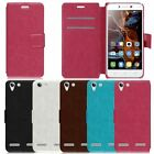 Magnetic Flip Leather Wallet Pouch Card Case Cover Stand For Lenovo Vibe K5