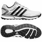 ADIDAS MENS ADIPOWER SPORT BOOST GOLF SHOES - NEW SPIKELESS WATERPROOF LEATHER