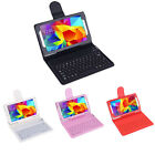 """Bluetooth Keyboard Silicone Stand Cover Case For Samsung Galaxy Tab 4 7"""" T230"""