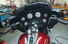 PVC 3 POUCH WINDSHIELD BAG FOR FLHT HARLEY DAVIDSON