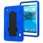 FOR ALCATEL ONE TOUCH POP 7 P310A IMPACT DUAL LAYER HYBRID TABLET CASE KICKSTAND