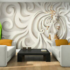 Photo Wallpaper 3D LOW RELIEF MEDUSA IN GOLD Wall Mural (3046VE)