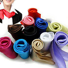 Lovely Cute Women Soft Silk Scarf Satin Square Scarves Headband Neckerchief Neck