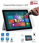 Premium Tempered Glass LCD Screen Protector Guard For Microsoft Surface 3 10.8""