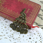 DIY Handmade Jewelry Accessories Wholesale Vintage Peacock Ancient Bronze Alloy